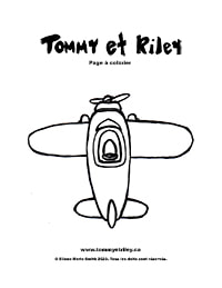 Tommy et Riley: Avion